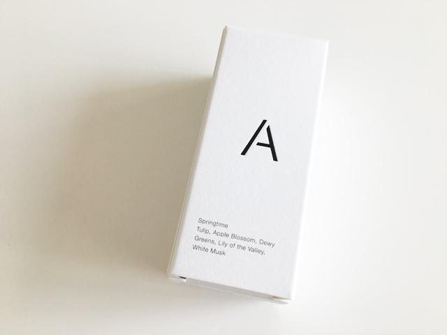 エアアロマ,スプリングタイム,箱の側面にAというロゴが入っている,