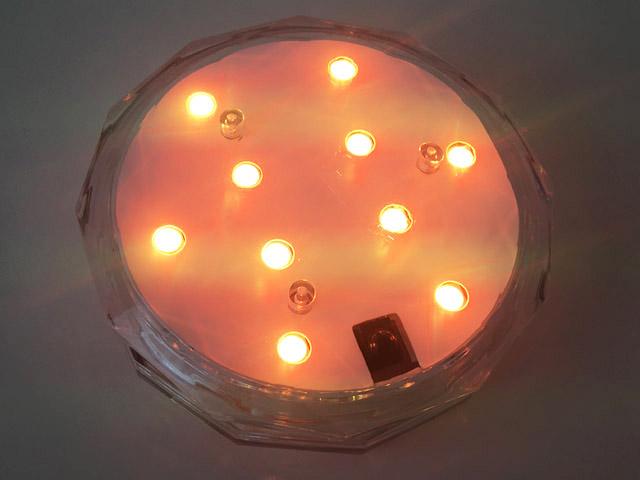 アクアライト,オレンジ色,防水バスライト,Aqua Light,