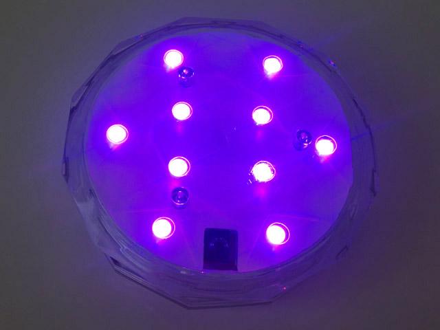 アクアライト,青紫色,防水バスライト,Aqua Light,