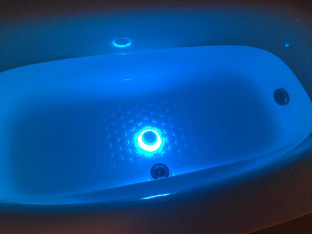 アクアライト,水色,防水バスライト,AquaLight,