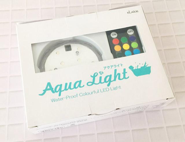 アクアライト,防水バスライト,箱,AquaLight,