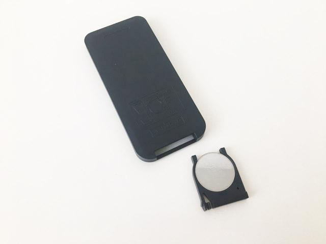 アクアライトのリモコンのボタンを入れる部分,防水浴室ライト,AquaLight,
