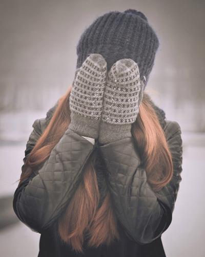 冬,手袋,