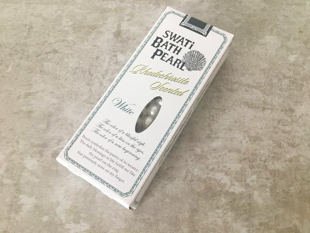 SWATi,BATH PEARL,バスパール,インカローズの香り,30粒入りの外箱