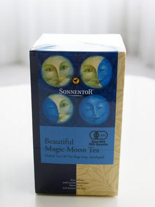 ゾネントア,月のお茶,ビューティフル マジック ムーンティーのパッケージ