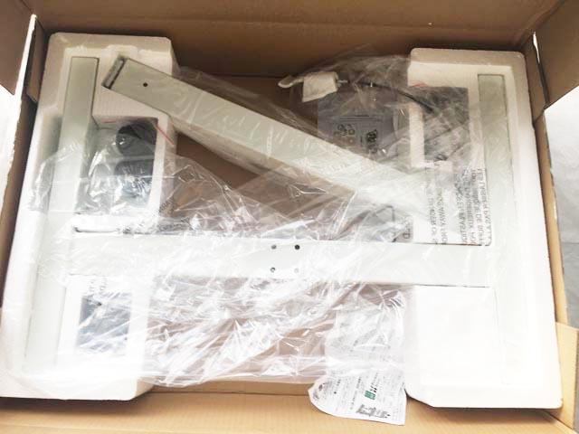 昇降式スタンディングデスク,届いた時の様子,組み立てる部品の材料,