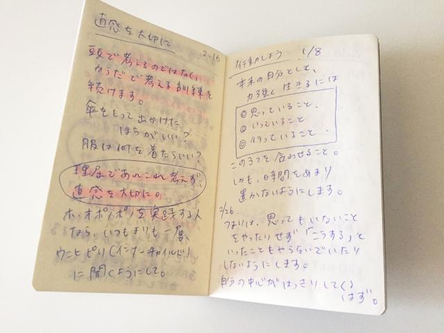 エトランジェ ディ コスタリカ,ポケットサイズのノートの使い方,