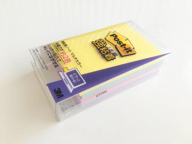 3Mの強粘着のPost it,ふせん,75mm×50mmのサイズ,Super sticky Notes,