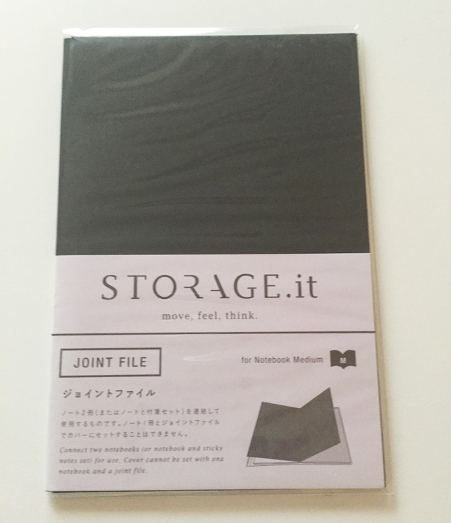 Strage it,ストレージイット,Mark's,マークス,ノート,ジョイントファイル,B6ノートの表
