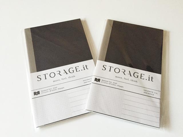 Strage it,ストレージイット,Mark's,マークス,ノート,モバイルサイズノート