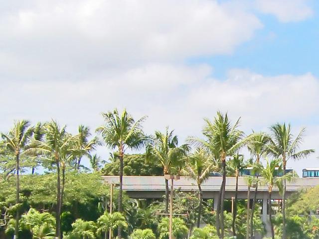 ハワイ,オワフ島到着