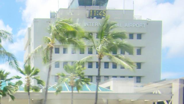 ハワイ,ホノルル国際空港