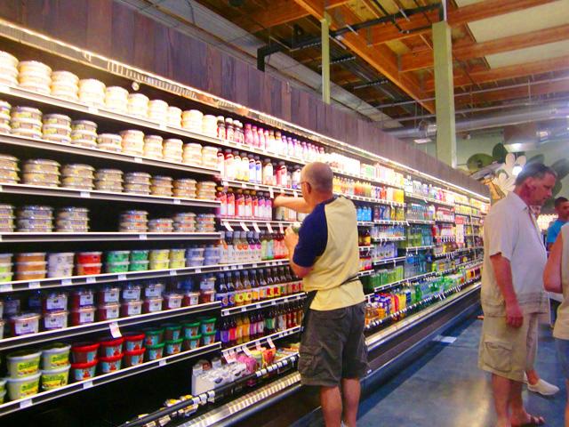 カイルアタウンのスーパーマーケット