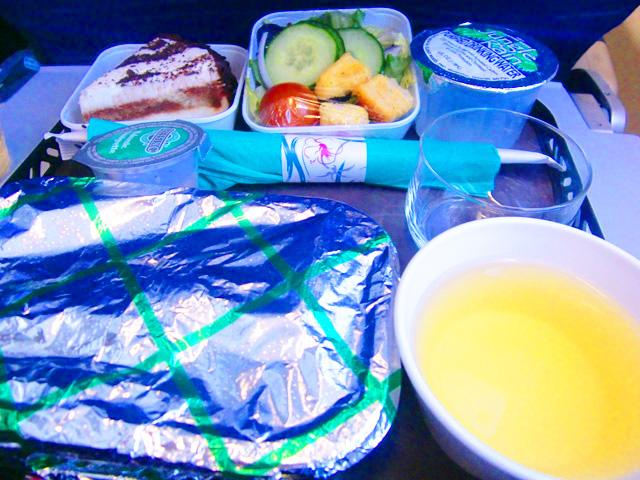 ハワイアン航空,機内食,