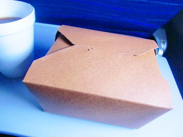 ハワイアン航空,機内食,ランチボックス