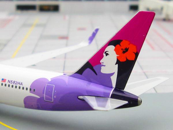 ハワイアン航空,飛行機の羽のイラスト