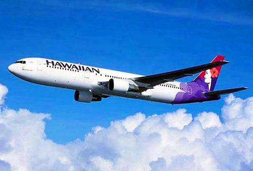 ハワイアン航空,飛行機