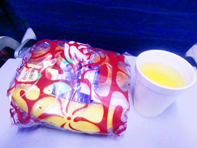 ハワイアン航空,機内食,軽食