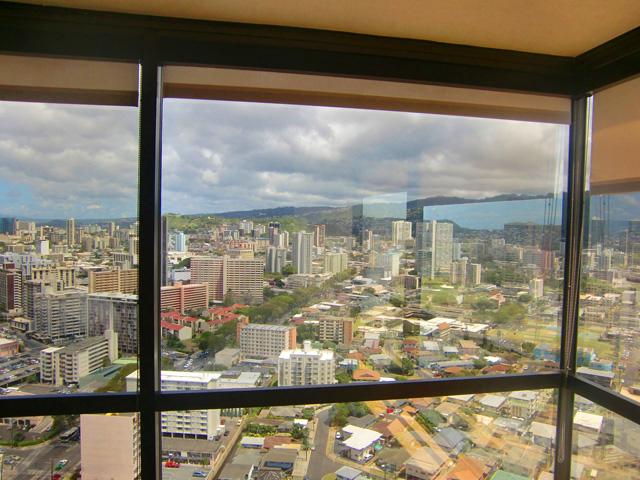 キューブ コスメティックス(Kuub Cosmetics)からの窓からの景色