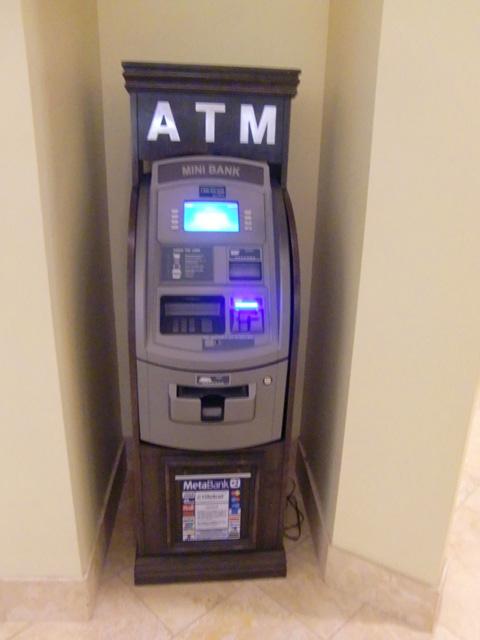 シェラトン・ワイキキ・リゾート・ホテル,ATM