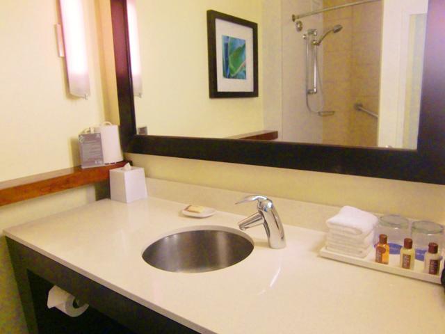 シェラトン・ワイキキ・リゾート・ホテル,洗面台