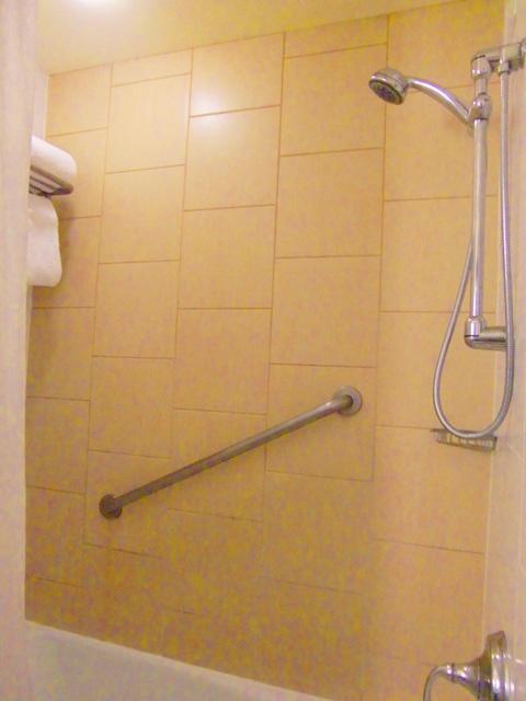 シェラトン・ワイキキ・リゾート・ホテル,シャワー